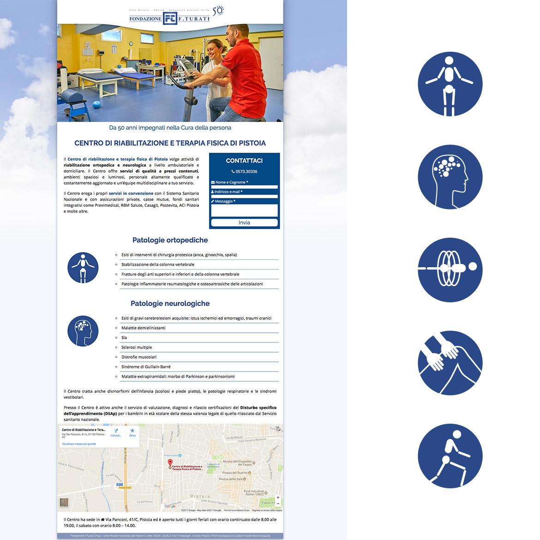 Landing pages – Fondazione Turati