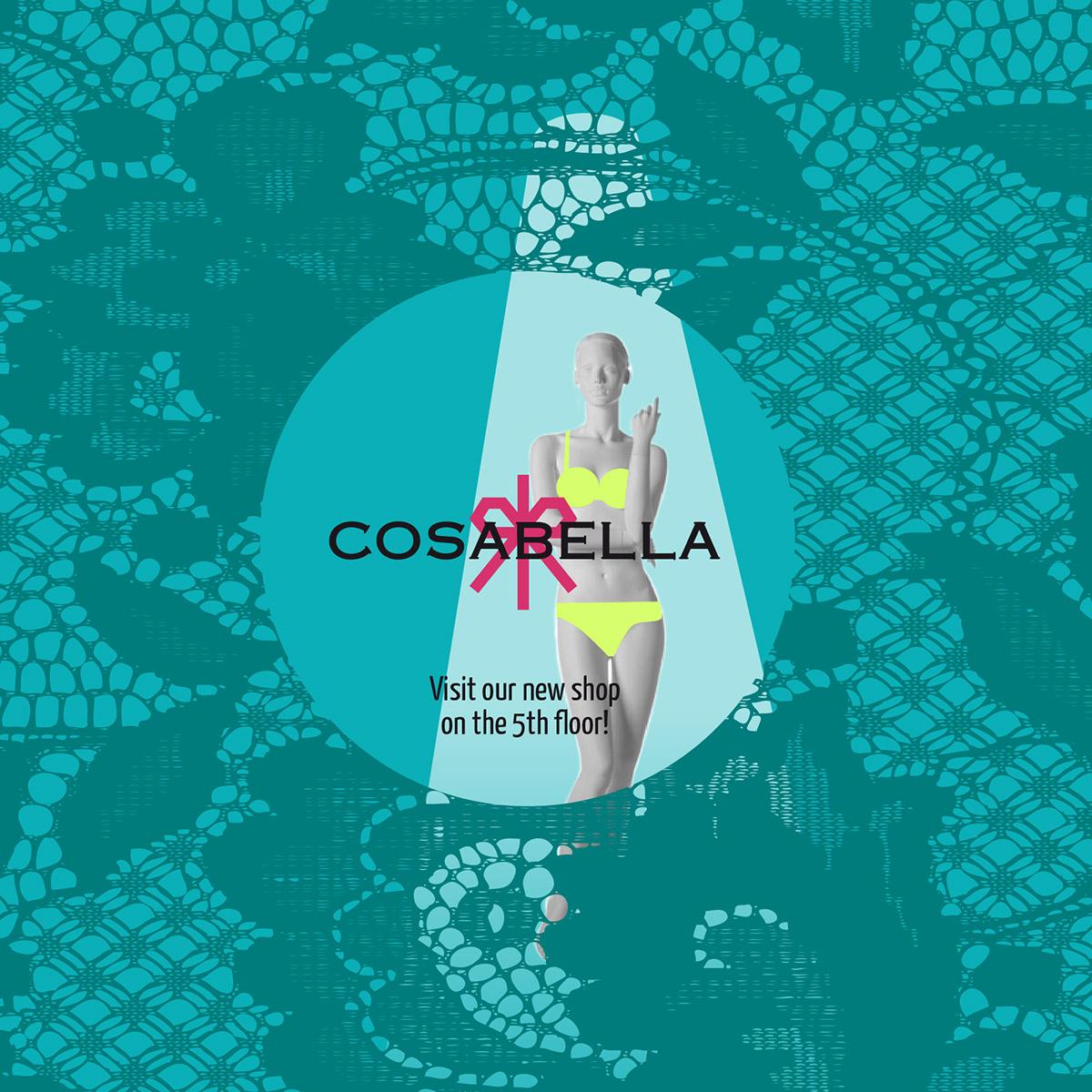 Design vetrine Cosabella 2014