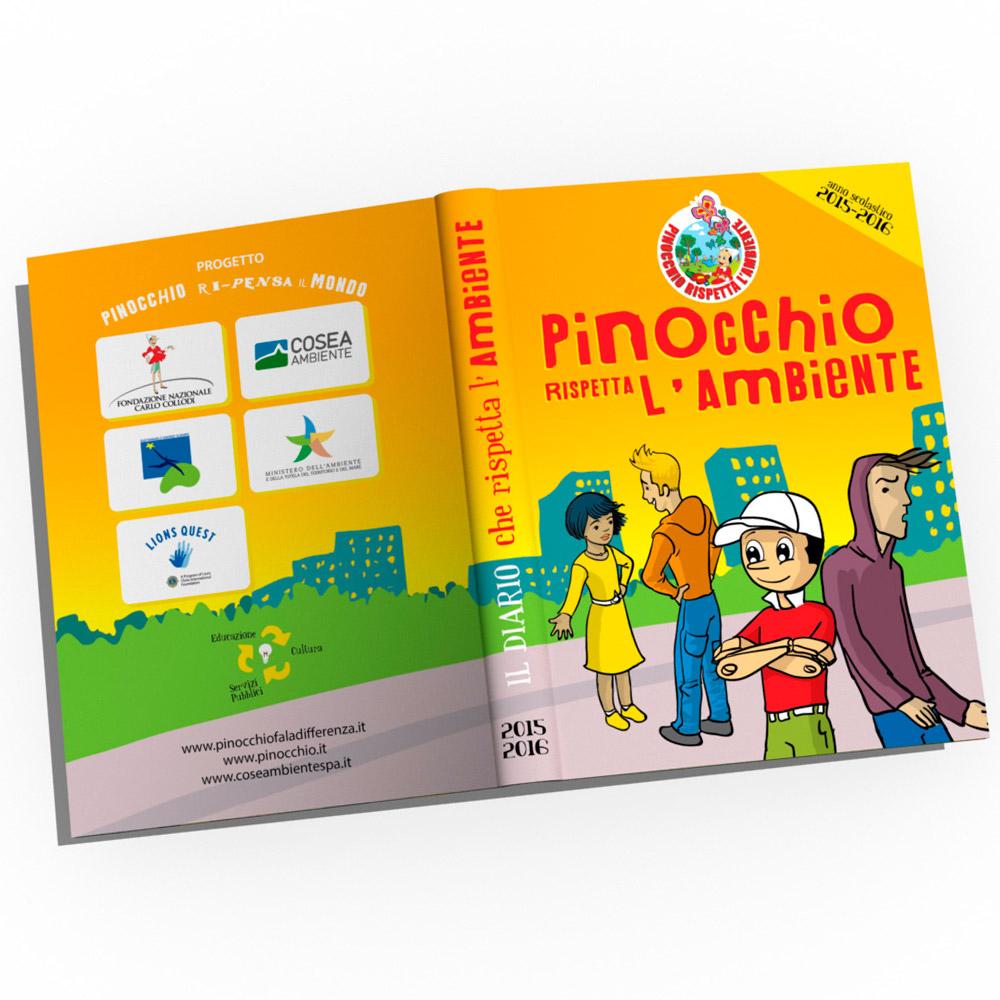 3 diari Pinocchio