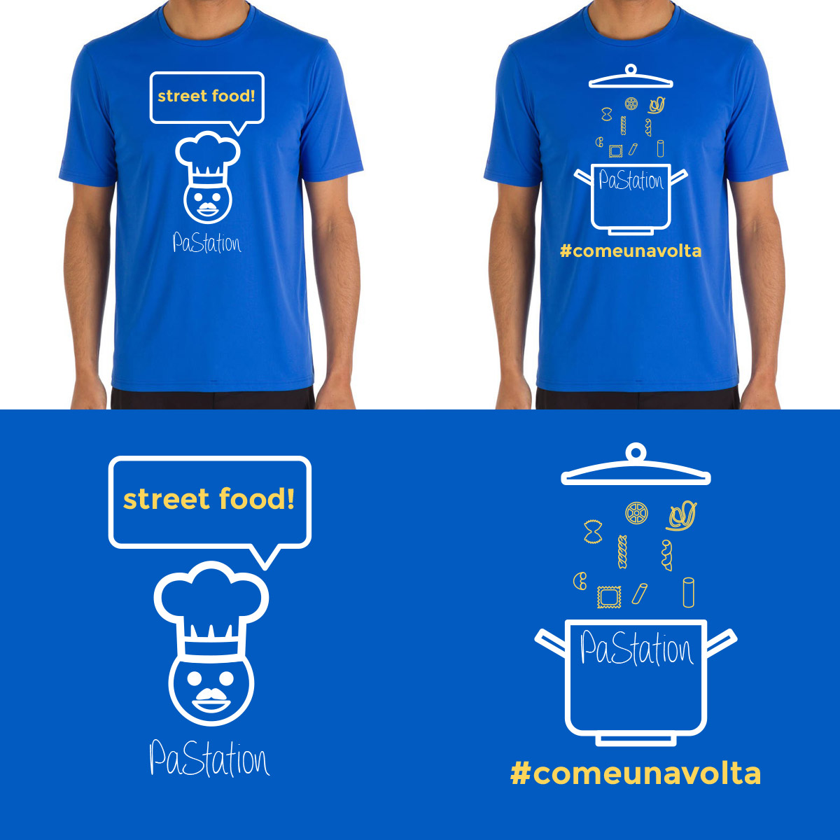 Grafica – Pastation Trucks street food
