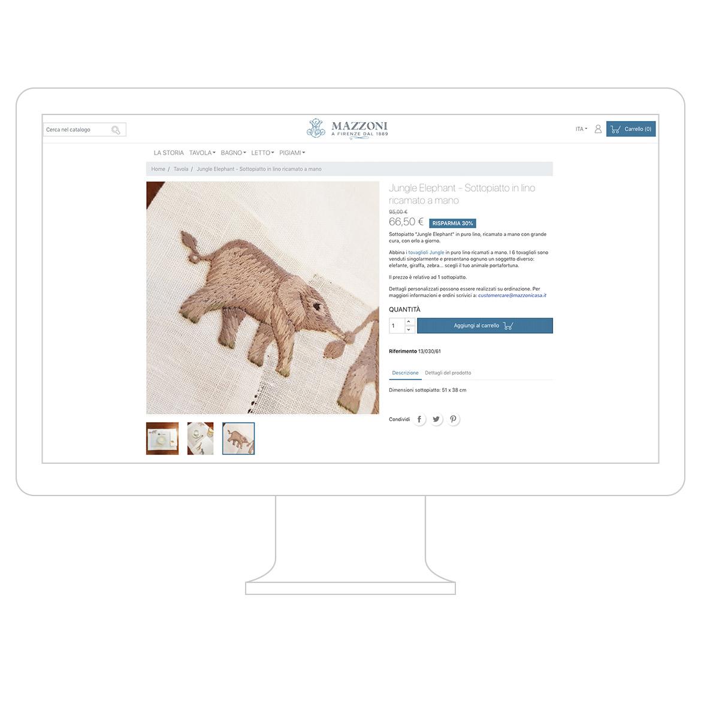 web design mazzoni casa