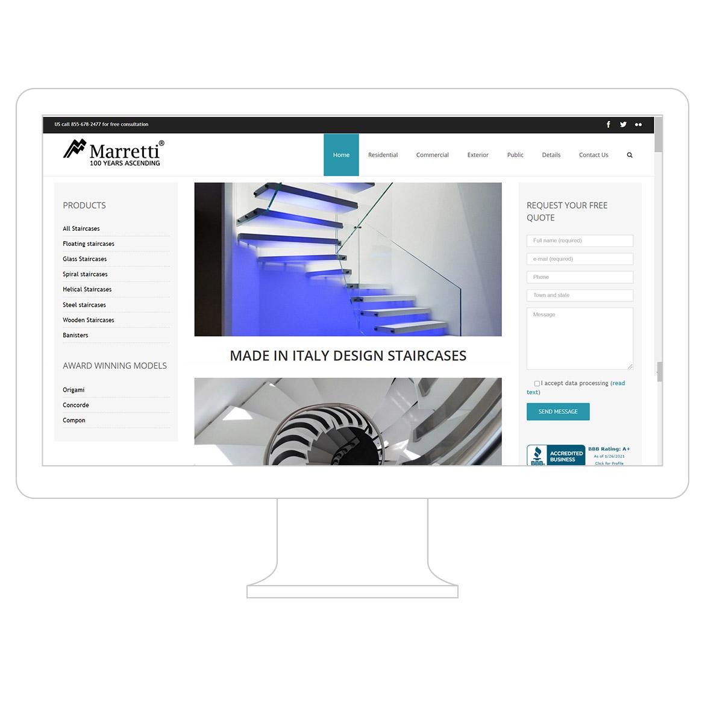 web design marretti