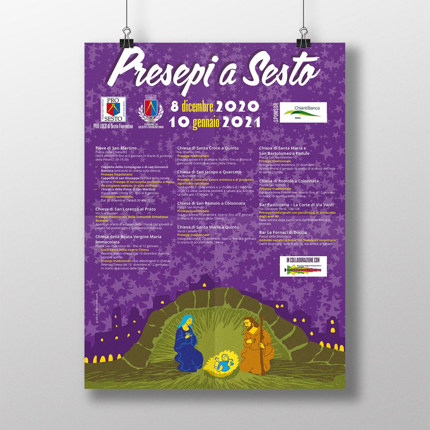 Poster – Presepi a Sesto Fiorentino