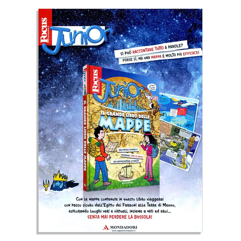 Il grande libro delle Mappe su Focus Junior