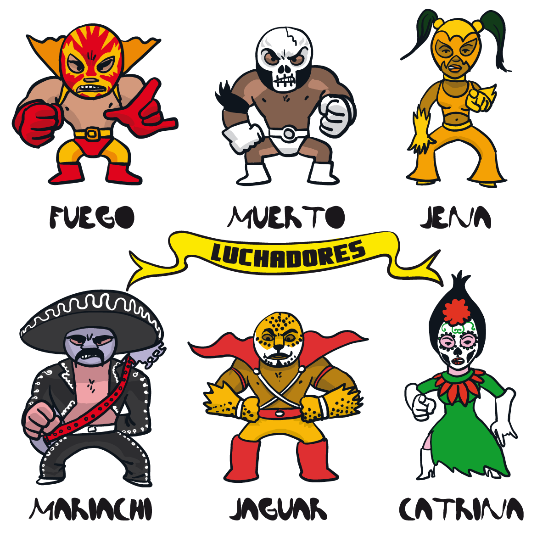 "fumetto ""Luchadores 1"" Tijuana"