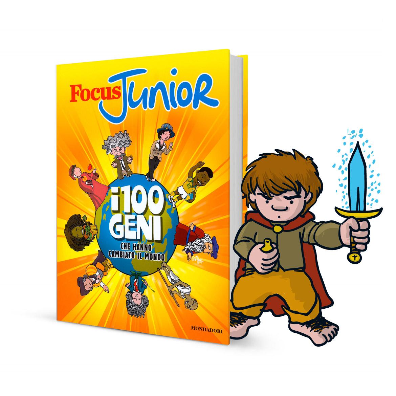 illustrazioni per ragazzi - 100 geni che hanno cambiato il mondo