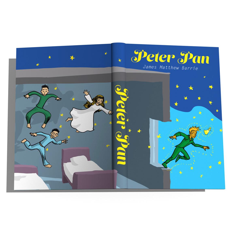 """copertina """"Peter Pan"""" contest"""