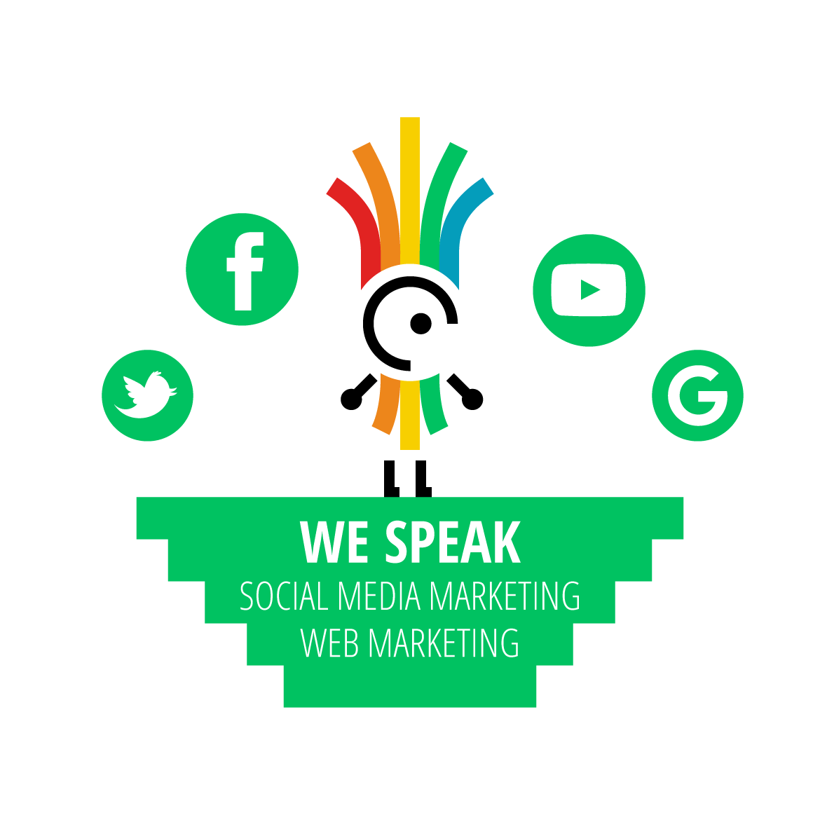 We speak – Social Media Marketing